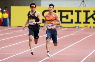 田徑》尬贏南非、美國好手 楊俊瀚大阪賽200公尺奪銀