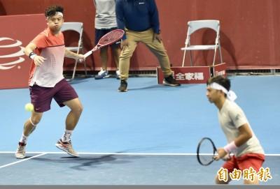 網球》狂!連兩週奪冠 謝政鵬光州賽男雙稱王
