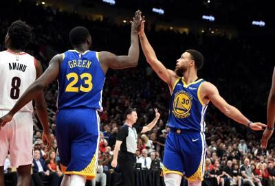 NBA》柯瑞飆36分 率勇士克服18分落後逆轉拓荒者聽牌