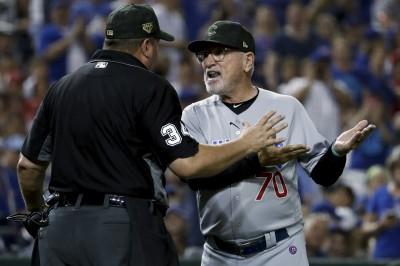 MLB》質疑對手「兩段式」投球違規 小熊總教練提抗議比賽(影音)