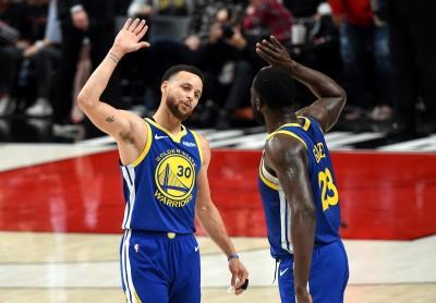 NBA》柯瑞、D.格林同場大三元 勇士連5季闖總冠軍戰