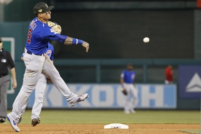 MLB》小熊明星游擊手腳踝不適   將接受MRI檢查傷勢