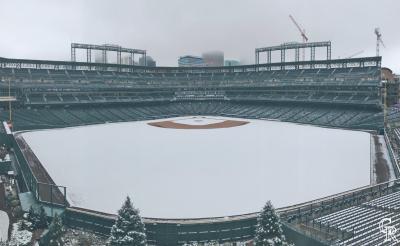 MLB》太美了!快6月洛磯主場仍降下瑞雪
