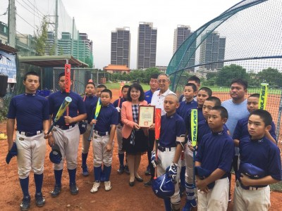 棒球》好想贏韓國的利器空運來台  仁善少棒如虎添翼