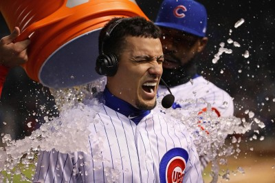 MLB》巴耶茲代打敲再見安 小熊主場氣走費城人(影音)