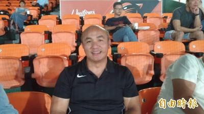 中職》張泰山現身台南球場 有回娘家的感覺