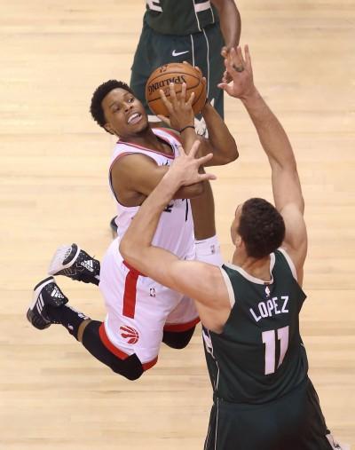 暴龍板凳大爆發宰公鹿 今日NBA戰績
