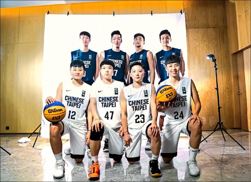 亞洲盃3對3籃賽》黃聰翰領銜 男隊2連勝
