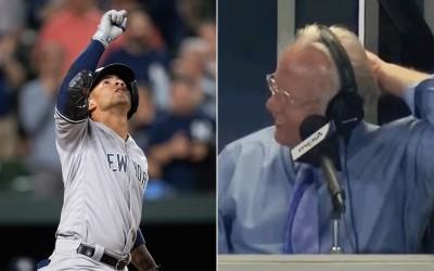 MLB》洋基小將創64年神扯紀錄 敵隊主播崩潰喊「哪有這種事」(影音)