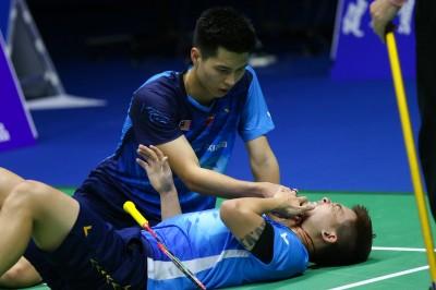 羽球》扯!大馬選手濺血帶傷完賽 賽後卻遭中國網友肉搜撻伐