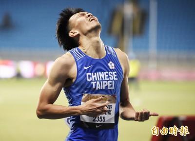 田徑》狂! 「台灣欄神」陳奎儒13秒34再破全國
