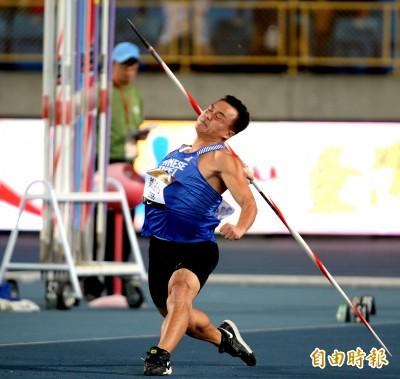 標槍「黃金右臂」鄭兆村86.1公尺摘金 年度世界第7強