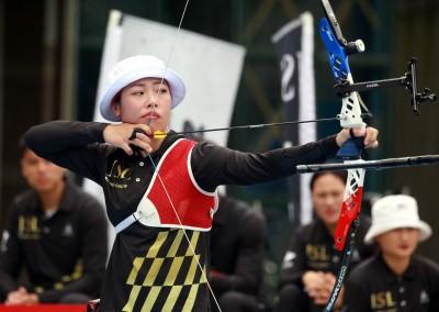 射箭世界盃》超強!台灣反曲弓女團射落墨西哥 摘下金牌