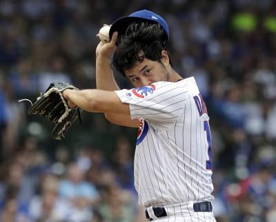 MLB》主場一勝難求!達比修有爆6分退場 遭小熊迷怒噓