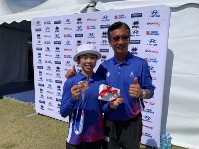 射箭世界盃》「天才少女」譚雅婷大逆轉 擊敗奧運銀牌對手奪銅