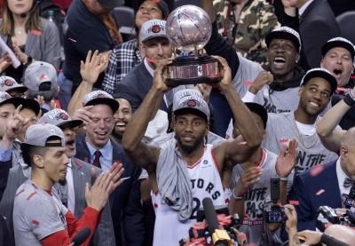 NBA》絕地大逆轉!暴龍4連勝淘汰公鹿 隊史首闖總冠軍戰