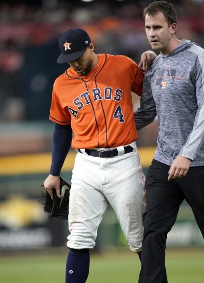 MLB》又是腿後肌拉傷 太空人「春天哥」將缺陣數週