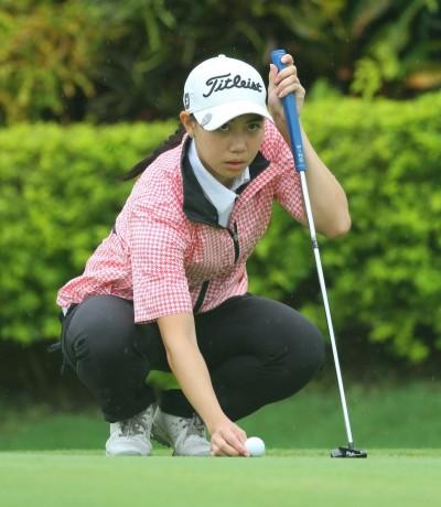 高球》黃郁評67桿傲視群芳  泰國17歲小將65桿領先群雄