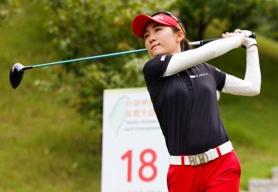 高球》業餘高爾夫錦標賽第二輪 韓國女將李藝媛64桿破南峰球場紀錄