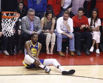 NBA》KD傷退、暴龍球迷喝采惹議 多倫多市長出面說明