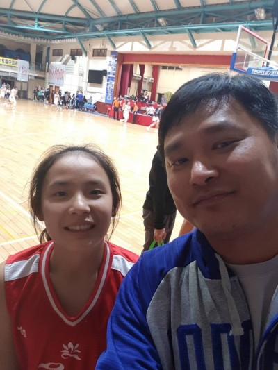 籃球》東泰名教頭談子弟兵不苟言笑 女兒走上籃球路練出心得