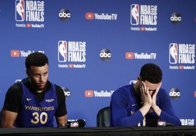 NBA》杜蘭特受傷是誰害的? 柯瑞力挺勇士高層