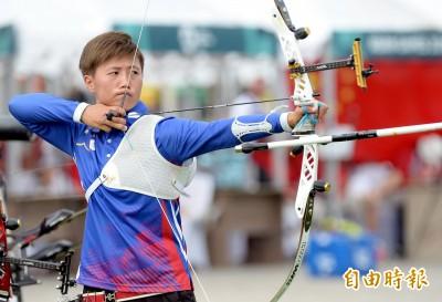 射箭》雷千瑩飆6支10分箭 完封南韓奧運金牌成員晉金牌戰
