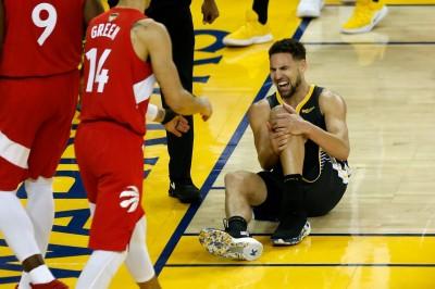 NBA》勇士付出慘痛代價! K.湯普森十字韌帶斷裂