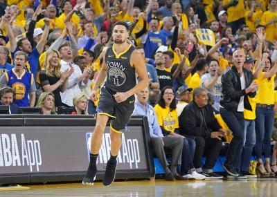 NBA》超越詹皇!K.湯普森季後賽三分球命中數史上第3