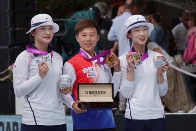 射箭世錦賽》雷千瑩射落南韓名將 個人賽隊史首金入袋