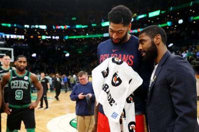 NBA》湖人三巨頭成型? 美媒爆厄文渴望與戴維斯聯手