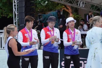我射箭隊創空前佳績 南韓教練「好討厭碰到台灣」