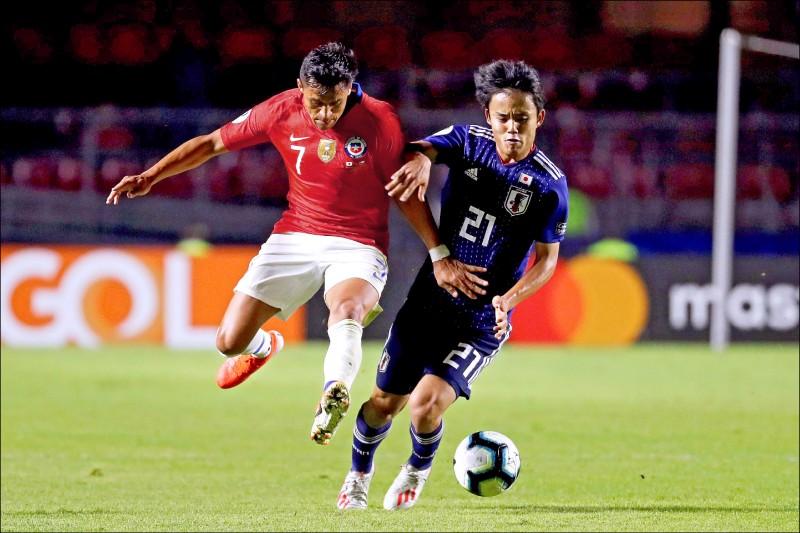 美洲盃足球賽》「日本梅西」取經 為東京奧運磨刀