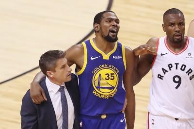 NBA》勇士還沒出局! 美媒爆KD明年只會去這三隊
