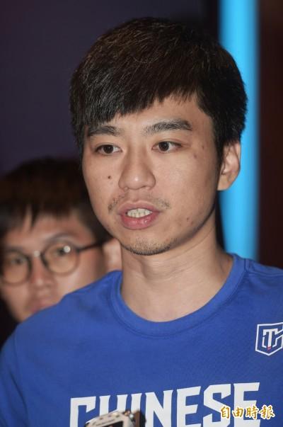 瓊斯盃》藍隊「最老菜鳥」張博勝:遲到總比不到好