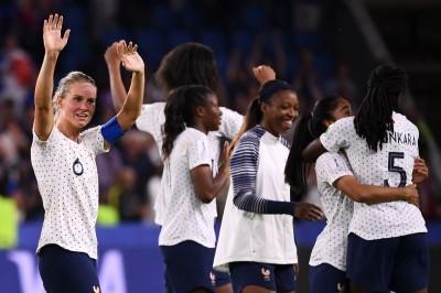 女足世界盃》法國延長賽準絕殺! 地主勝巴西強勢晉8