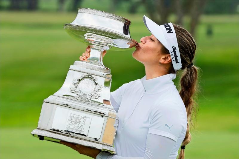 畢馬威女子PGA錦標賽》1桿擊退朴城炫 澳小將格林封后