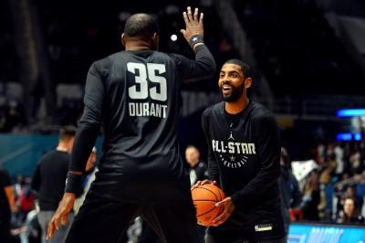 NBA》前進紐約? 美媒爆杜蘭特、厄文有望攜手組隊