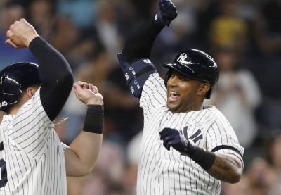 洋基連27場開轟追平大聯盟紀錄 今日MLB戰績