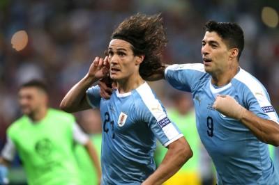 美洲盃》卡瓦尼致命頭錘破網 烏拉圭搶下C組龍頭