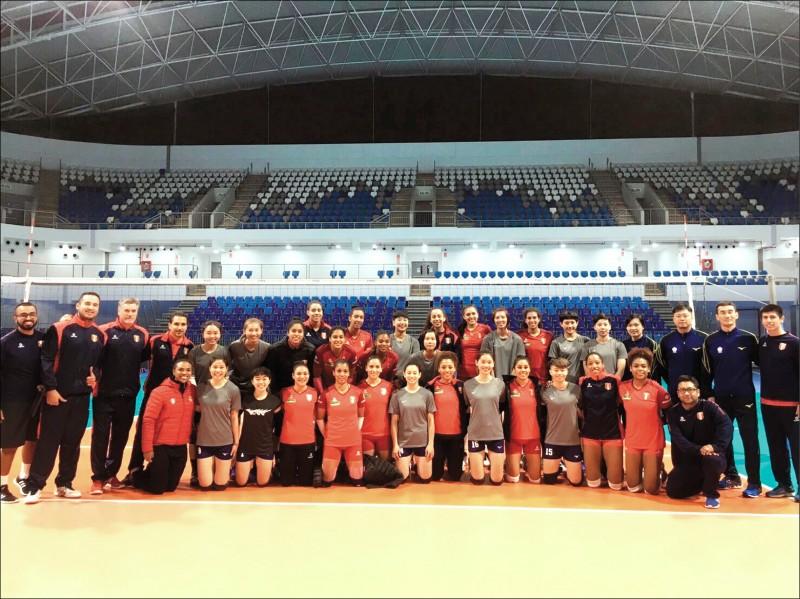 FIVB挑戰者盃》台灣女排調時差 明首戰阿根廷