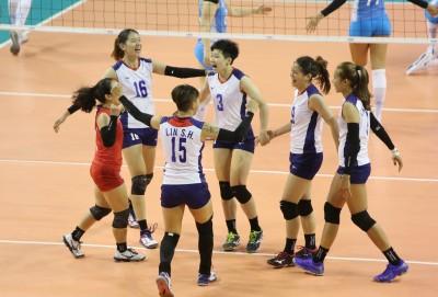 排球》挑戰者盃首戰 台灣女排不敵阿根廷