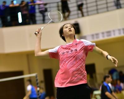 羽球》全國羽球排名賽 白馭珀重返女單戰場