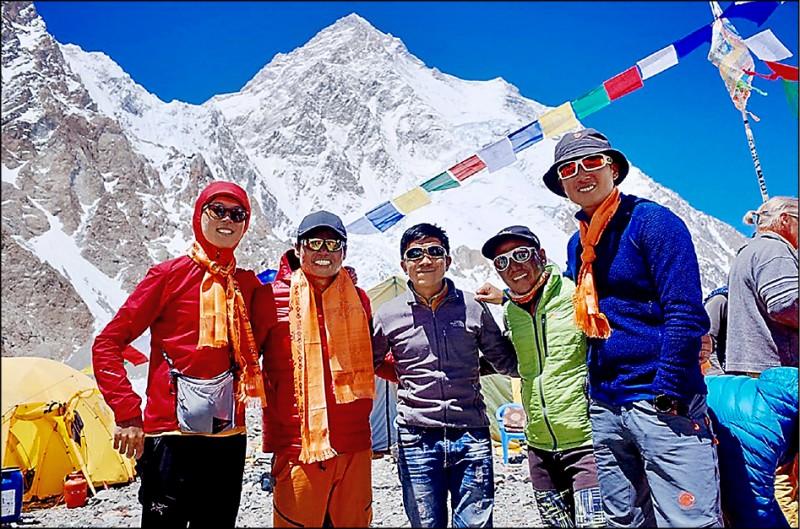 台灣雙傑挑戰K2 天氣差延後攻頂