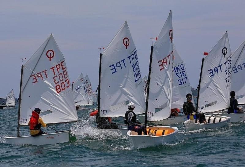 臺灣盃全國帆船錦標賽 一連3天在觀音亭海域競技
