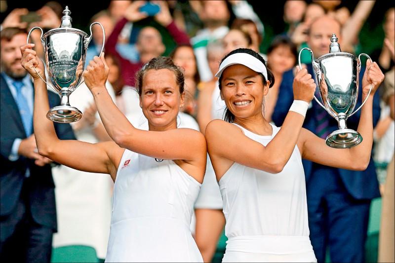 小薇重返榮耀 憶起溫網冠軍史