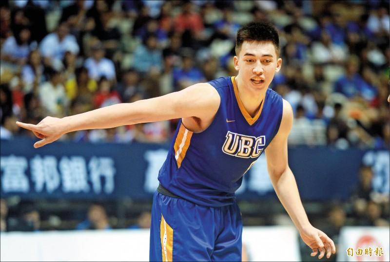 瓊斯盃》UBC教頭看譚傑龍:未來是他的