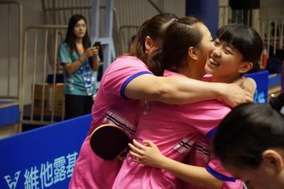 桌球》田曉雯、林姿妤力退中國 地主台灣留下身障亞錦賽團體金牌