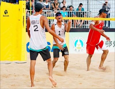 排球》亞洲沙灘排球賽落幕 台灣男子組創下新紀錄