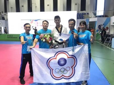 跆拳道》世界少年跆拳道錦標賽 台灣喜迎兩銀